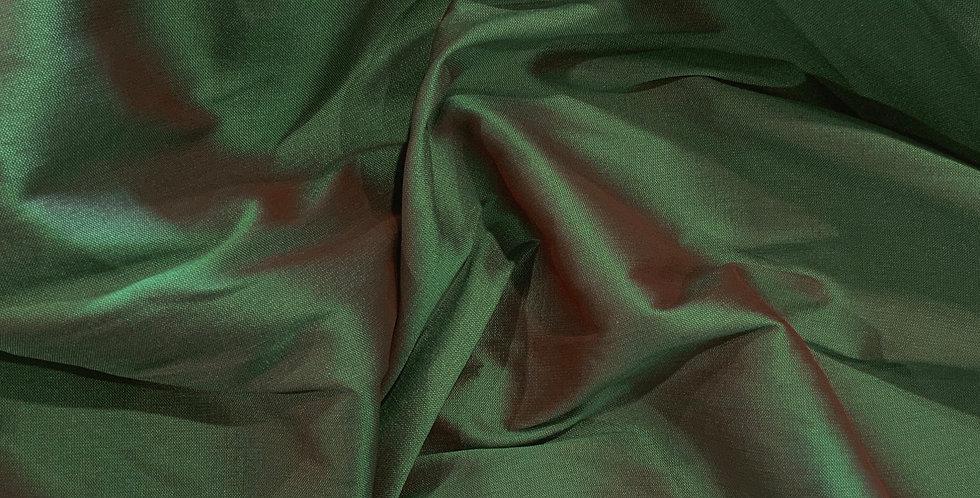 Emerald Green Polyester Taffeta...