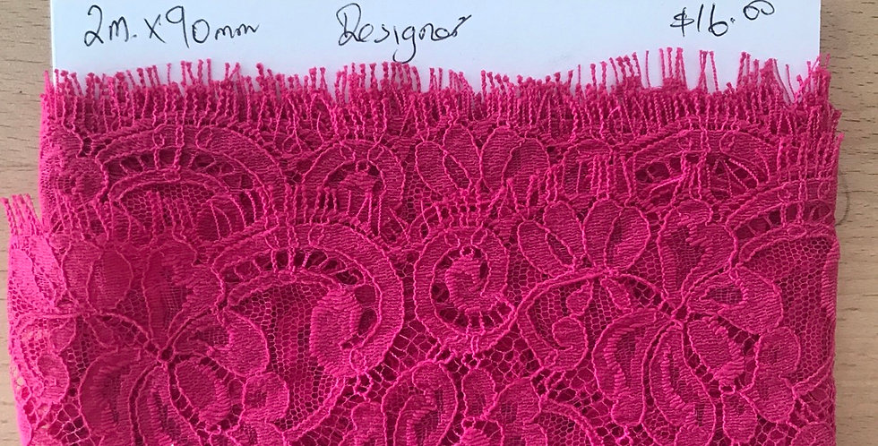 Pink lace remnant