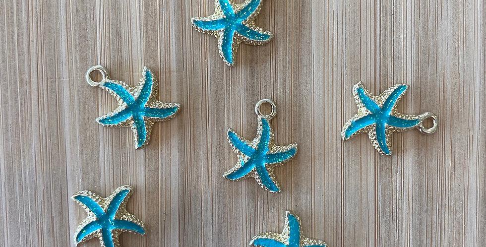 Starfish charm green