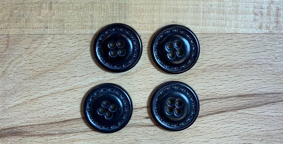 4 Black Buttons