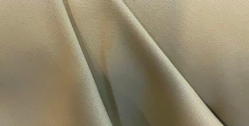 Fawn Stretch Polyester Suiting Remnant