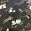 Thumbnail: Black Magnolia Lightweight stretch Satin...