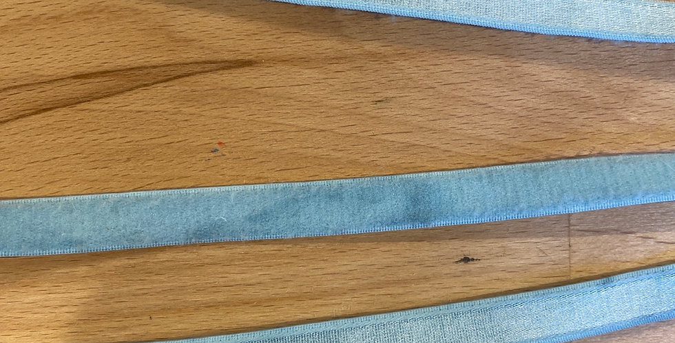 pale aqua mottled 10mm satin strapping