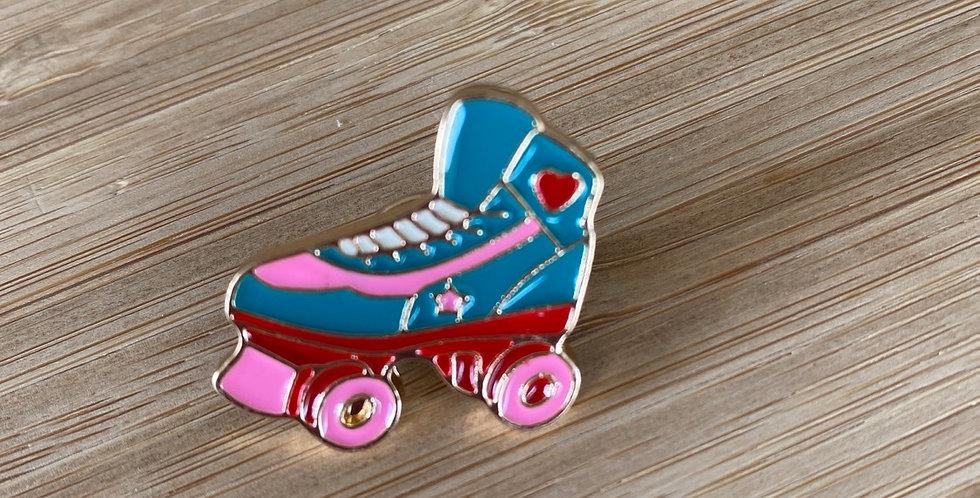 roller derby enamel pin