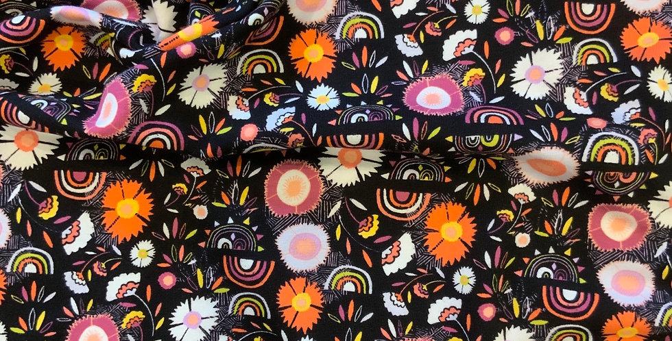 1.4mtr piece Art Gallery Fabrics Divine Pacha Oeko-Tex Cotton Spandex...