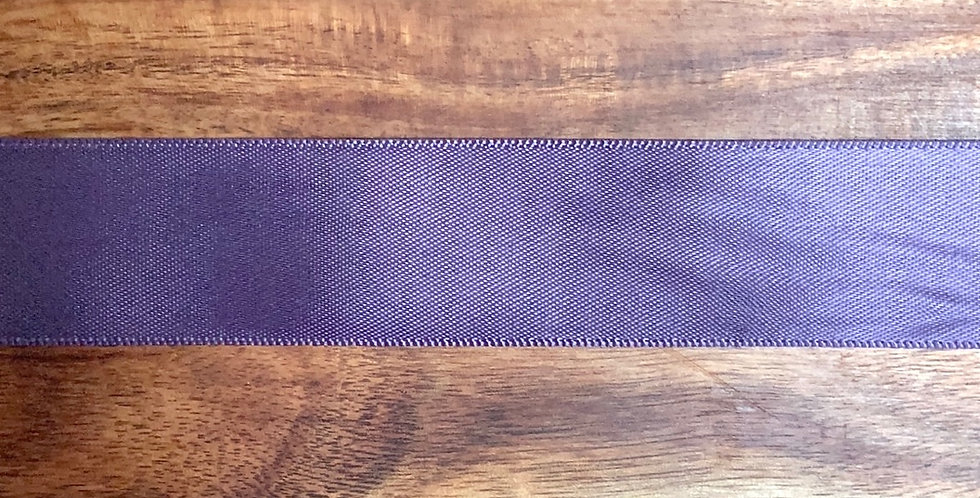 26mm Aubergine Satin Ribbon...