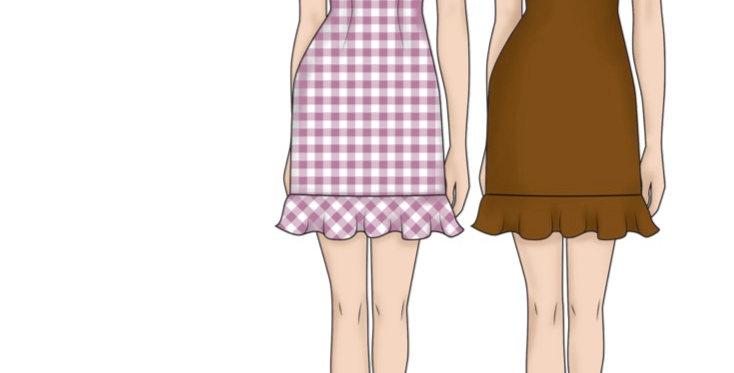Vandenberg fashion selina dress printed pattern