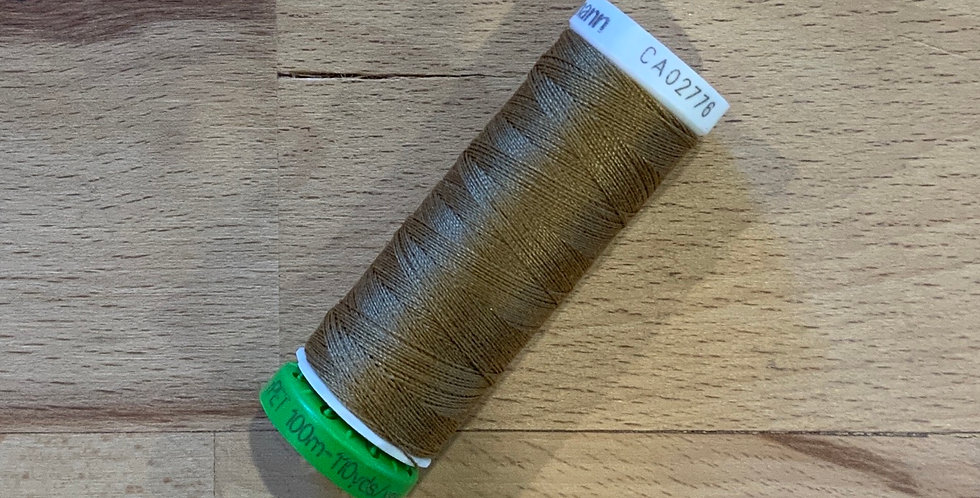 Gutermann 100mtr Thread Light Brown 887