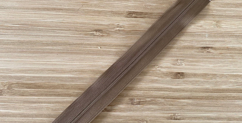25cm fawn invisible zip