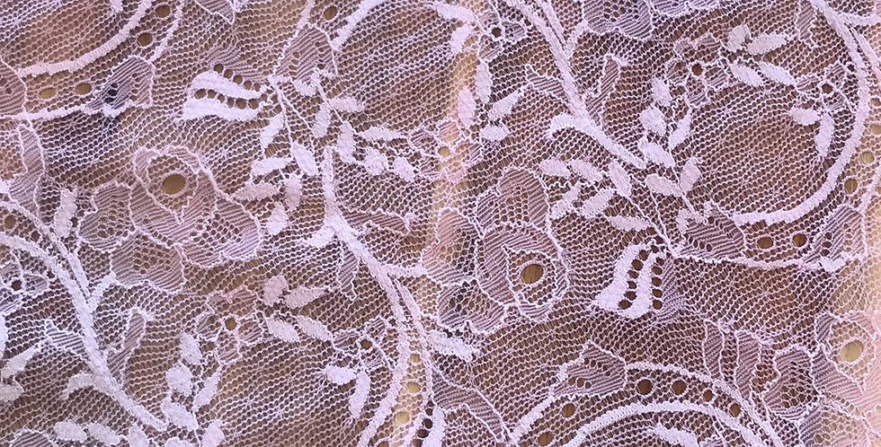 Rose Garden Trail Hand Dyed Stretch Lace....