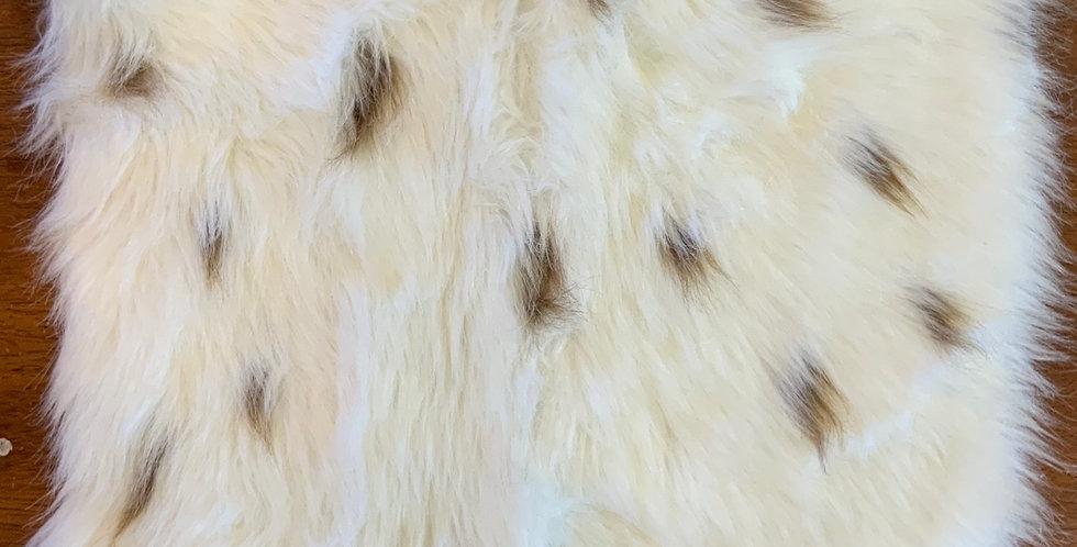 Caramel Spots High Pile Fur Piece...
