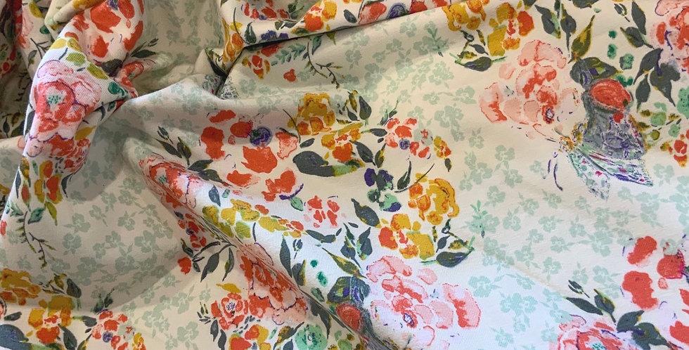 Art Gallery Fabrics JARDIN DELICATE Knit 50cm piece