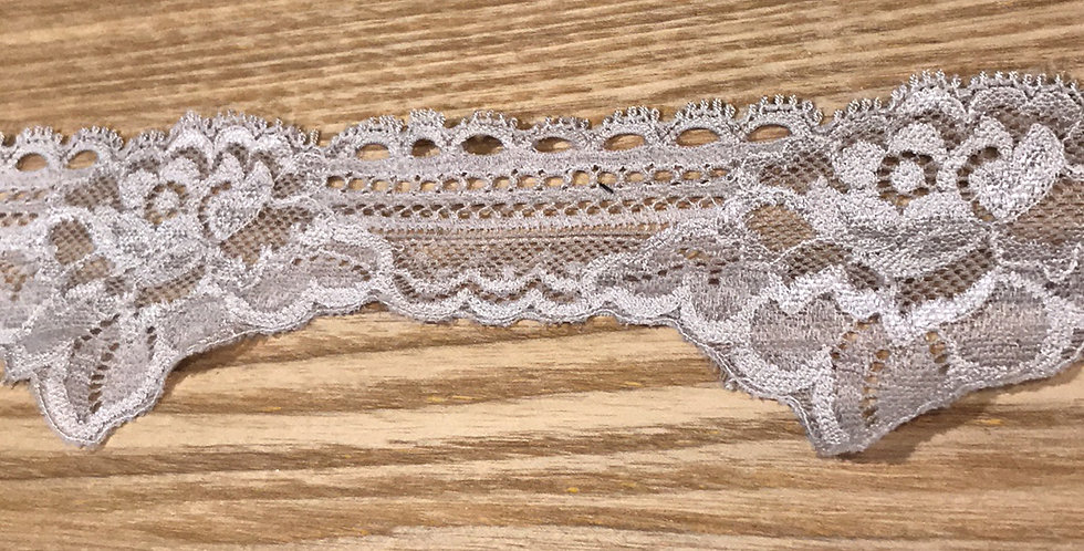 Mia Mocha Hand Dyed Stretch Lace...