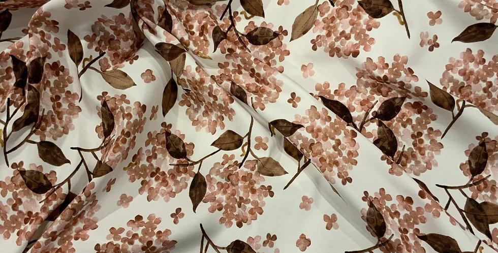 Family Fabrics Hortensia Rosy Cotton Jersey…