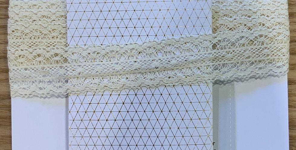 Fine Cotton Crochet Lace...