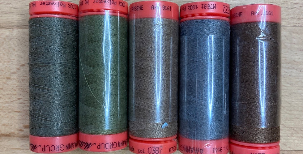 Metrosene Mixed  Khaki Thread Pack #2