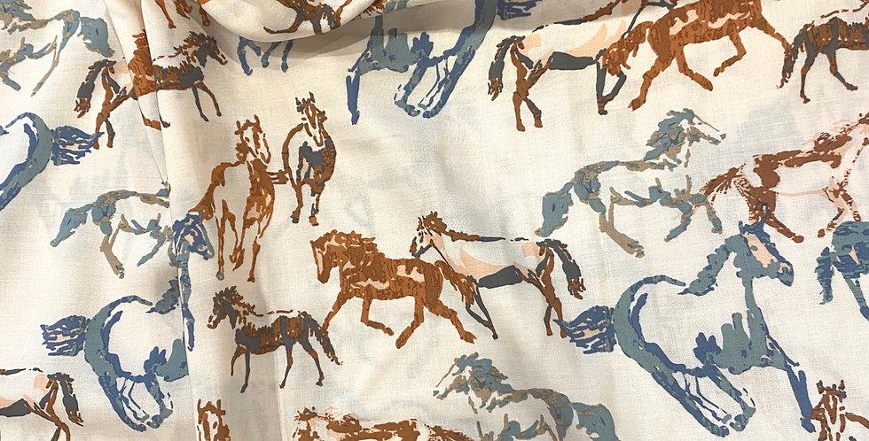Art Gallery Fabrics Boundless Spirit Sorrel Oeko-Tex Rayon...