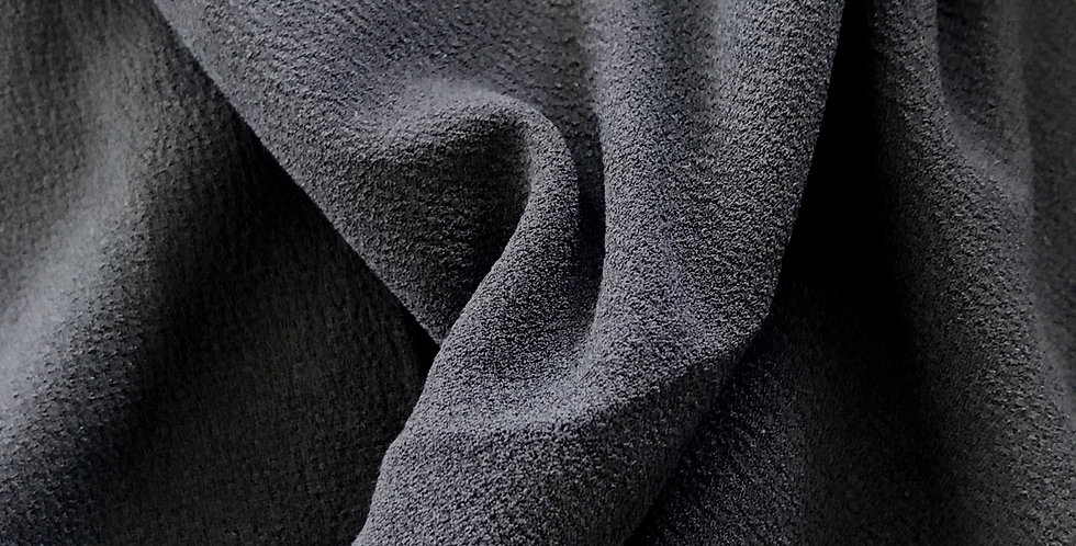 Black polyester crepe remnant