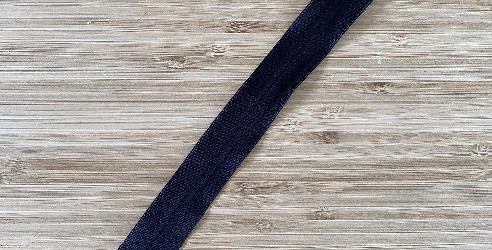 25cm black invisible zip