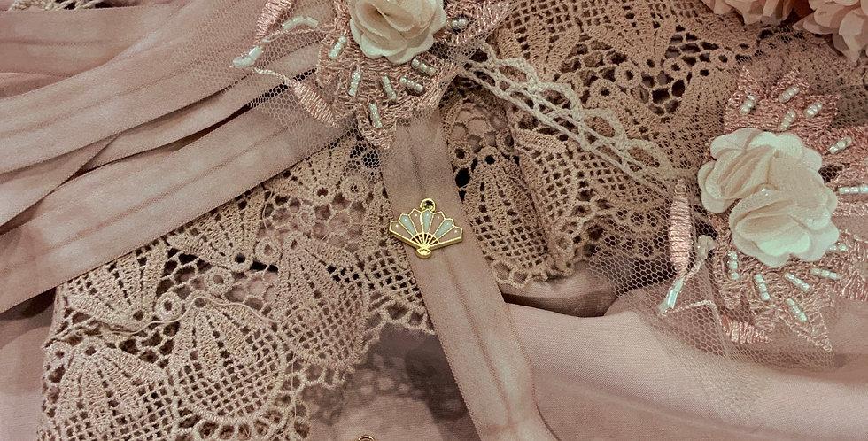 Dusty Rose Pink Camisole / Slip Kit...