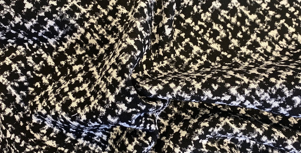 monochrome houndstooth suiting remnant