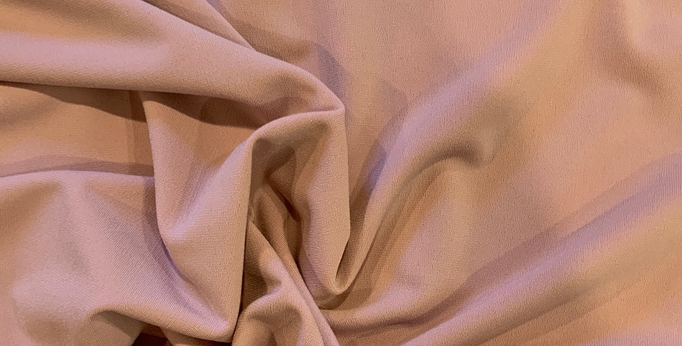 Dusty Pink Polyester Jersey Remnant
