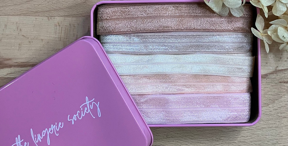 Barely There Shades Foldover Elastic Tin