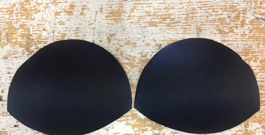 Natural bra cups Black and White