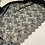 Thumbnail: Black Eyelash Lace 3mtr Piece #4010