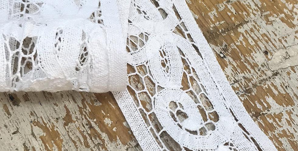 Eleanor vintage battenburg lace