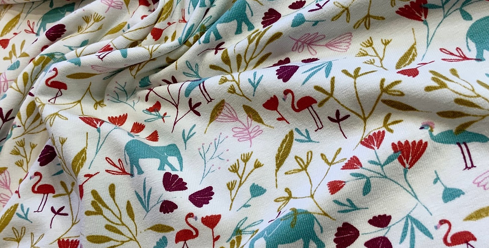 Safari Domotex French Cotton Spandex Knit...