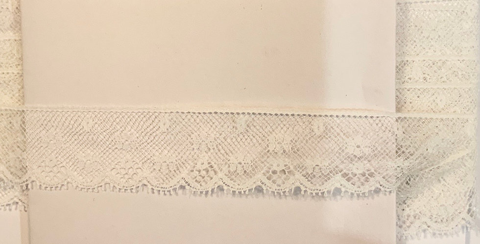 Vintage English Nylon Lace...