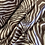 Thumbnail: Mocha Zebra Lightweight Satin...