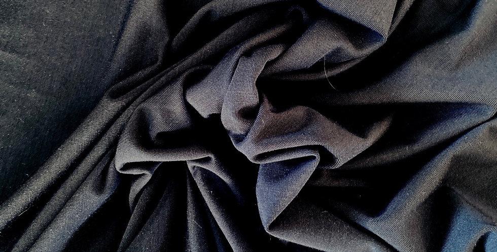 Charcoal viscose jersey