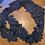 Thumbnail: Navy 3d Guipure Lace Off Cut #9061