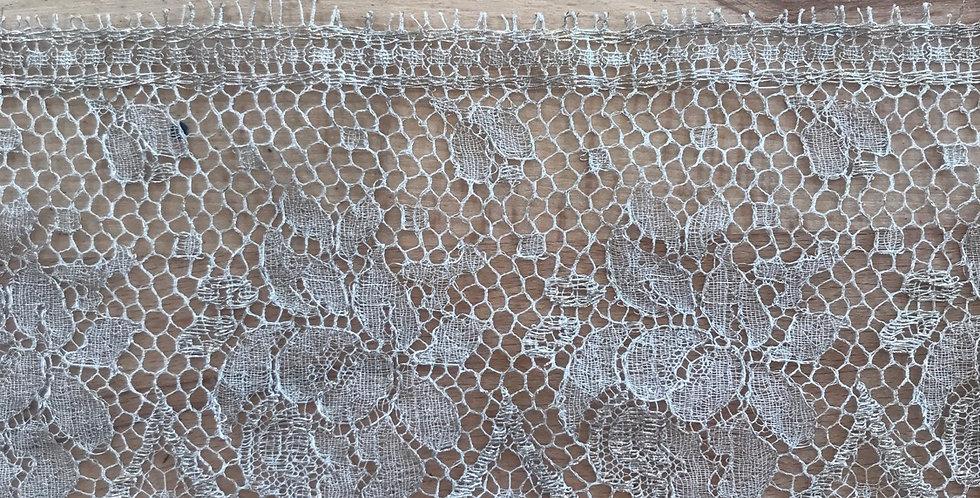 1950's metallic lace