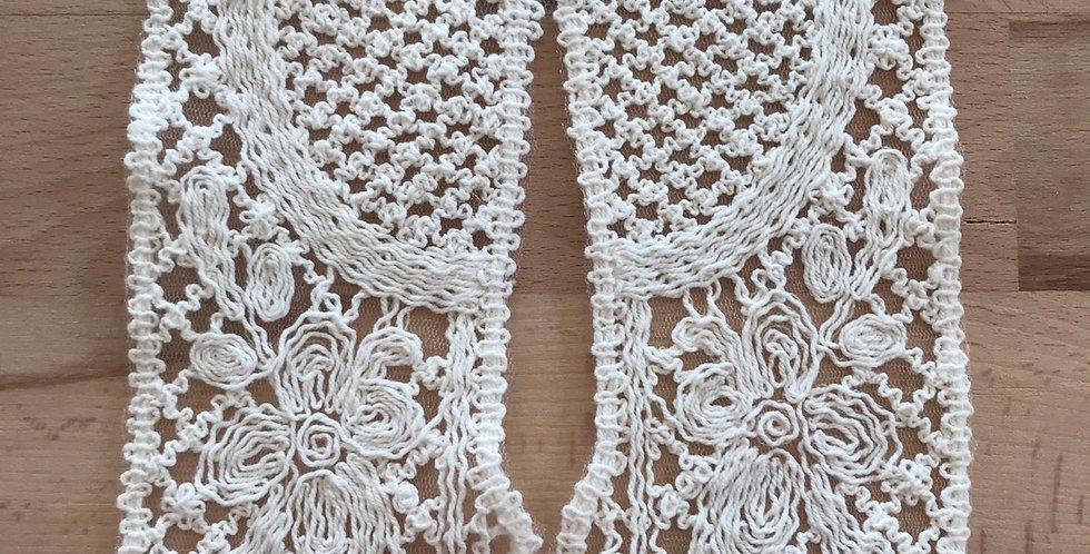 Boho embroidered neck piece