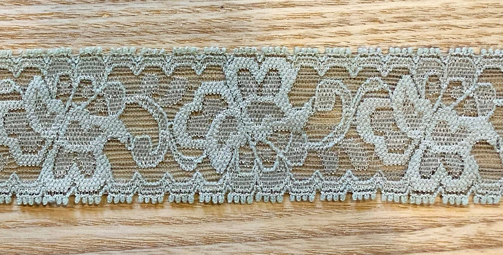Dusty Olive Hand Dyed Stretch Lace...