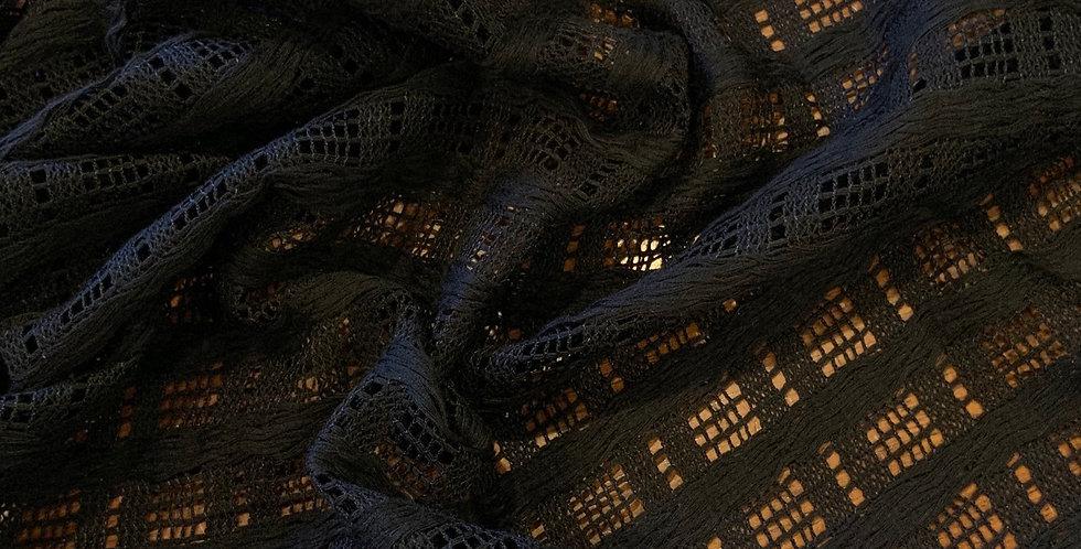 3mtr Bundle Black Super Soft Basket Weave Mesh...