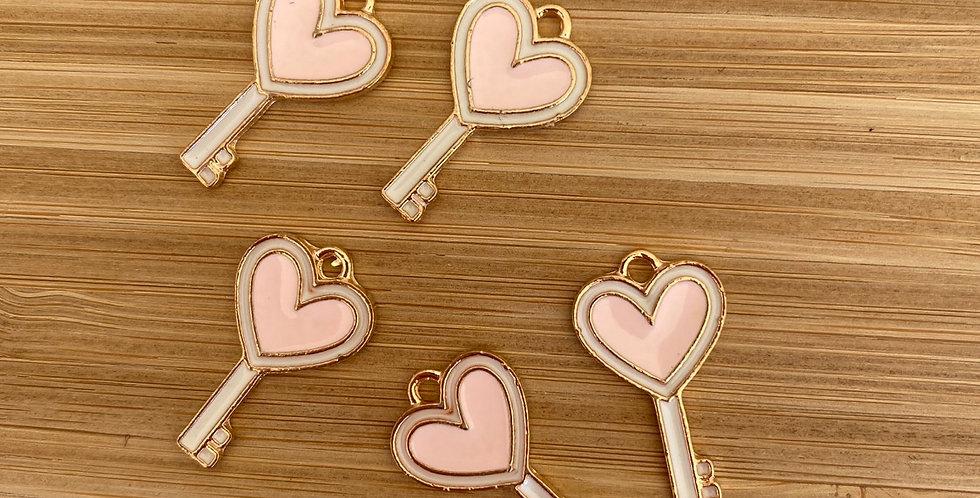 Key to love charm