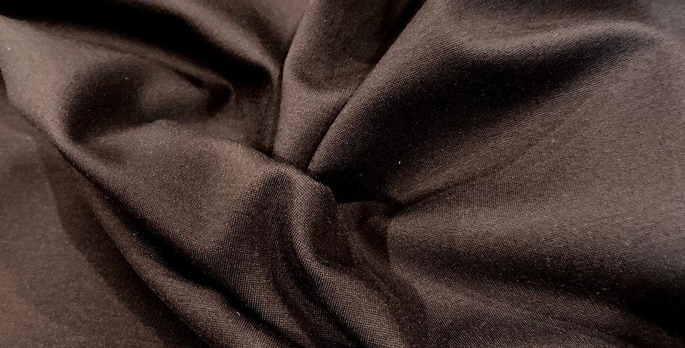 chocolate ponte knit