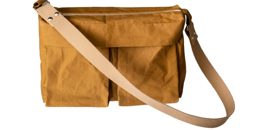 merchant and mills factotum bag printed pattern