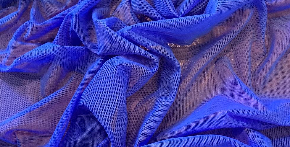 Cobalt Blue Stretch Mesh...
