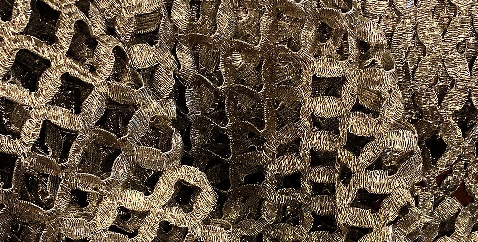 Solstiss Gold Mesh Lace...