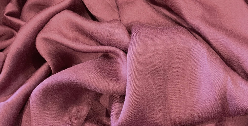 Faded Mulberry Viscose Sateen....