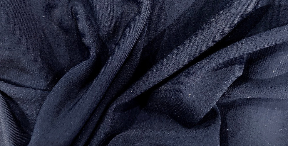 navy poly jersey remnant