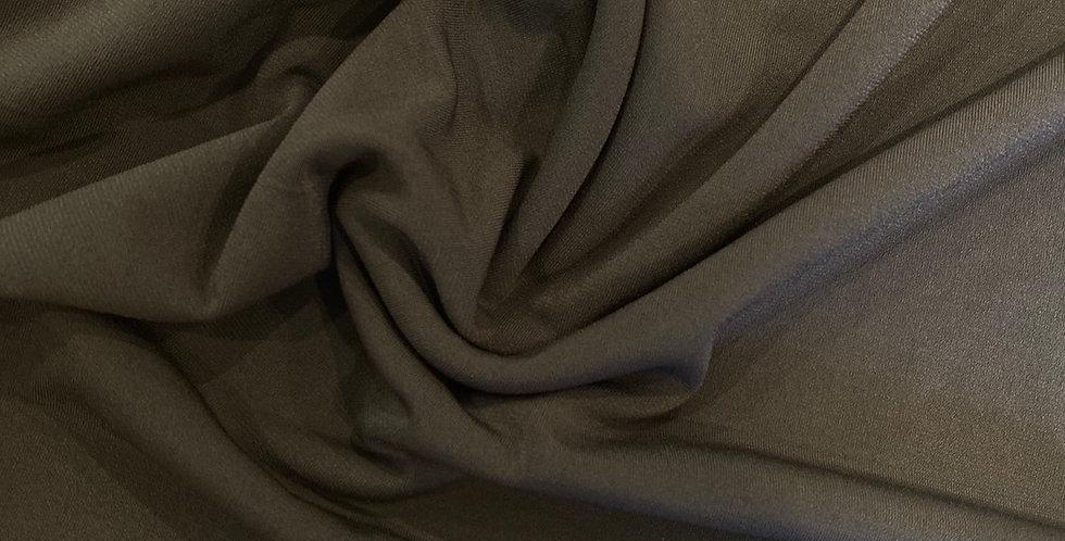 khaki polyester knit remnant