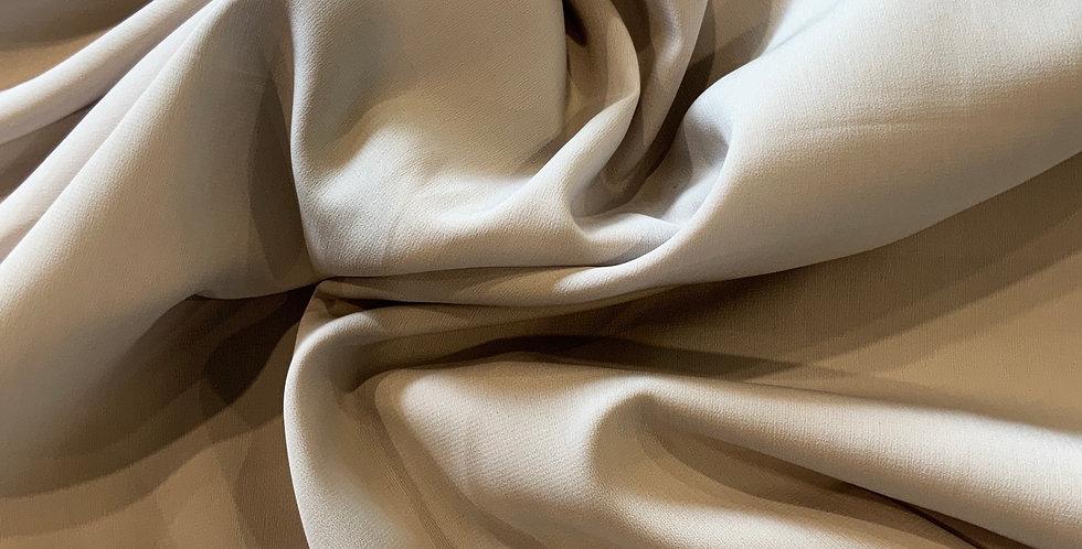 3Mtr Bundle Pale Grey Stretch Crepe de Chine