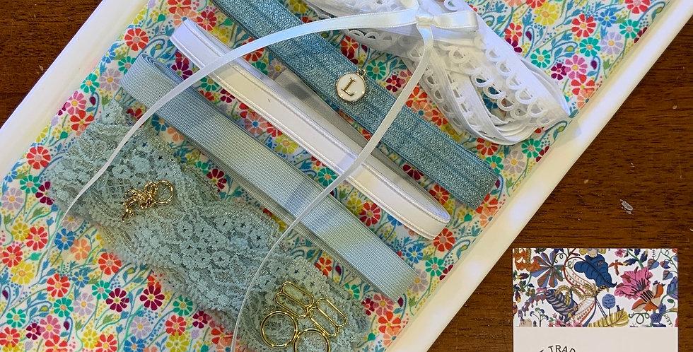 WINDMILL BLOSSOM WHITE Liberty Lingerie Kit...