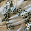 Thumbnail: Prairie Embroidered Crinkle Silk Chiffon...